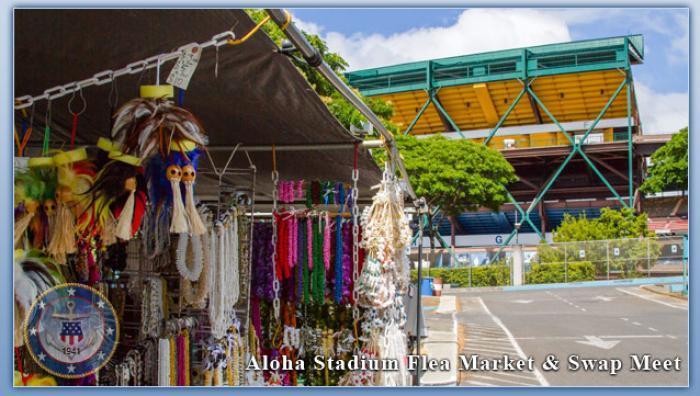 USS Arizona Memorial & Aloha Stadium Flea Market | Honolulu