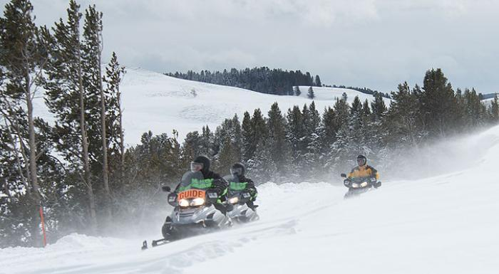 Snowmobiling Guides West Yellowstone Mt Go Do Things